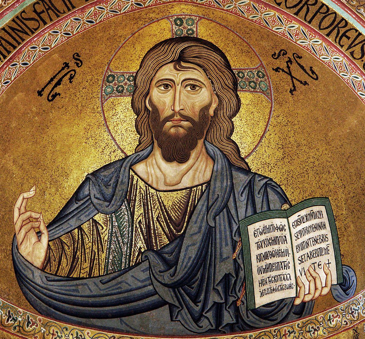 Jésus le Christ selon une peinture byzantine